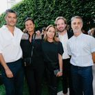 Benjamin Poulanges (Studio Poulanges), Nathalie Dupuis, Genève Doherty, Martin Basset et Edouard Dutour (ELLE)