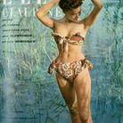 La mannequin  Claudine en 1948