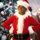 La représentation du costume du Père Noël au cinéma avec Jim Carrey dans le Grinch