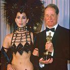 Cher et Don Ameche, le meilleur acteur de second rôle de 1986