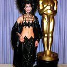 Cher lors de la 59ème cérémonie des Oscars