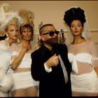 Karl Lagerfeld entouré des Supermodels prêt-à-porter 94