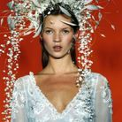 Kate Moss, Philip Treacy 1993