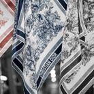 Les foulards Dior automne-hiver 2021-2022