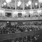 Des invités prestigieux réunis à Versailles pour voir s'affronter les créateurs américains et français