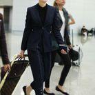 Cate Blanchett et son bagage Louis Vuitton