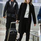 Léa Seydoux et son bagage Louis Vuitton