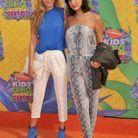 Gigi Hadid et sa soeur Bella lors des Teen Choice Awards 2014