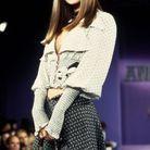 Kate Moss lors du défilé Anna Sui Printemps-Eté 93