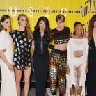 Lily Aldridge et le reste du casting du clip Bad Blood de Taylor Swift en 2015