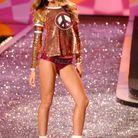 Lily Aldridge lors de son premier défilé Victoria's Secret en 2009