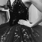 Costume imaginé par Chanel pour le gala du Ballet de l'Opéra de Paris