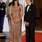 La robe de sirène de Michelle Obama