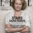 Eva Herzigova en couverture de ELLE par Peter Lindbergh