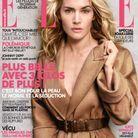 Kate Winslet en couverture de ELLE par Peter Lindbergh