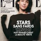Sophie Marceau en couverture de ELLE par Peter Lindbergh