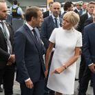 Brigitte et Emmanuel Macron au Théâtre Royal de Copenhague