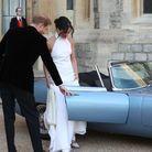 Le couple s'est rendu à Frogmore House où le prince Charles avait organisé une fête