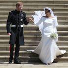 "Le prince Harry et sa femme Meghan Markle, ""amazing"" dans sa robe Givenchy"