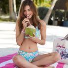 Bikini au charmant imprimé fleuri