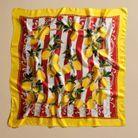 Le foulard en soie