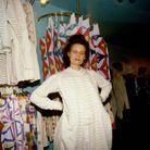 Vivienne Westwood dans sa boutique en 1981