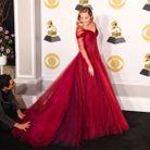 Miley Cyrus en robe Zac Posen