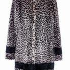 Manteau en fausse fourrure léopard La Seine & Moi