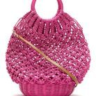 Sac en crochet Serpui