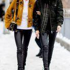 Un jean en cuir