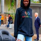 Un sweatshirt griffé