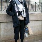 Casser un look d'hiver avec des sneakers minimalistes
