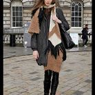 Mode street style look tendance chapeau winter diva