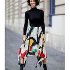 La jupe asymétrique