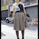 Mode defiles New York street style 11
