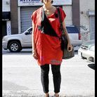 Mode defiles New York street style 13