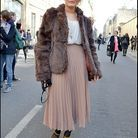 Mode street style look tendance jupe longue 12