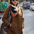 Mode street style look rue tendance foulard graphique bon genre e774d73b1d0