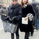 Lyudmyla et Petrova, mannequins