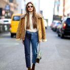 Look less is more avec un jean bicolore