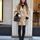 Axelle cornaille street style fashion week
