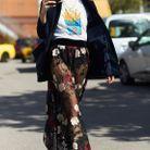 Un tee-shirt cool et des boots à lacets