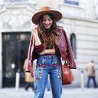 Look Instagram cuir