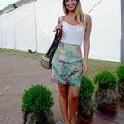 Mode look tendance street style bresil jupe verte