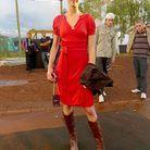 Mode look tendance street style bresil robe rouge