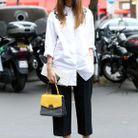 La chemise blanche ample
