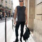 Mode tendance street style look homme Han