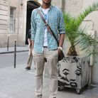 Mode tendance street style look homme Lionel
