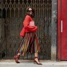 Adopter une jupe plissée