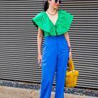 Fashion Week de Londres : des couleurs vitaminées